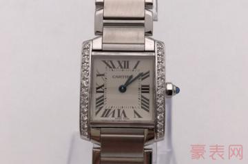 闲置二手卡地亚手表回收价格是多少