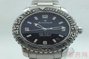 宝珀二手手表回收价格超过5折是好价吗