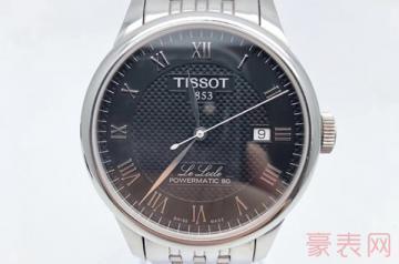 我原价4千多买的天梭手表二手能卖多少钱