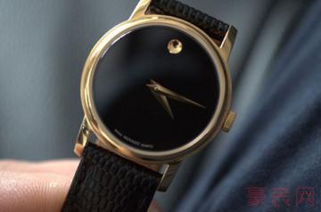 设计极具艺术的摩凡陀手表有回收的吗