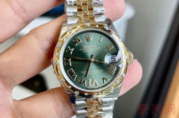 回收一块有些磨损的劳力士手表有多少钱