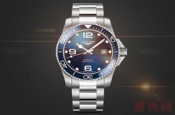 买了四年的浪琴手表回收价格普遍不高