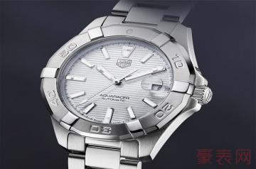 泰格豪雅竞潜系列手表回收价格通常多少