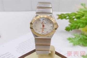 回收欧米茄女士手表价格怎样比男表高