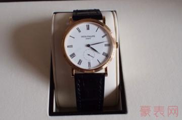 表壳有磨损的百达翡丽手表有回收的吗