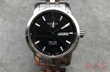 四千块钱的天梭手表回收价格能过五折吗
