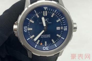 几乎全新的手表回收一般几折