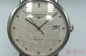 16000的二手浪琴手表回收值多少钱