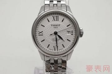 女士天梭手表回收报价为何低于男表报价