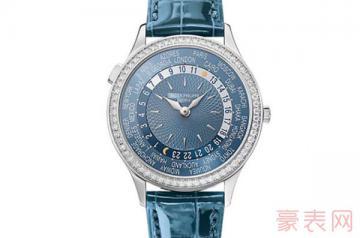 外观陈旧的百达翡丽手表回收值钱吗?