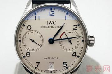 万国葡萄牙7二手手表回收保值吗
