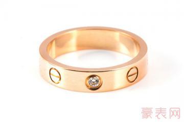 热门的卡地亚螺纹戒指回收要注意什么