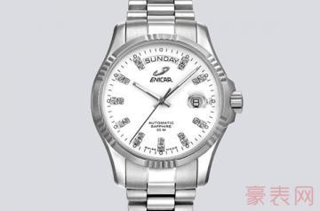 旧英纳格手表回收想拿高价成难题?