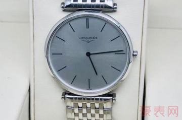 石英机芯的浪琴二手手表回收价格如何